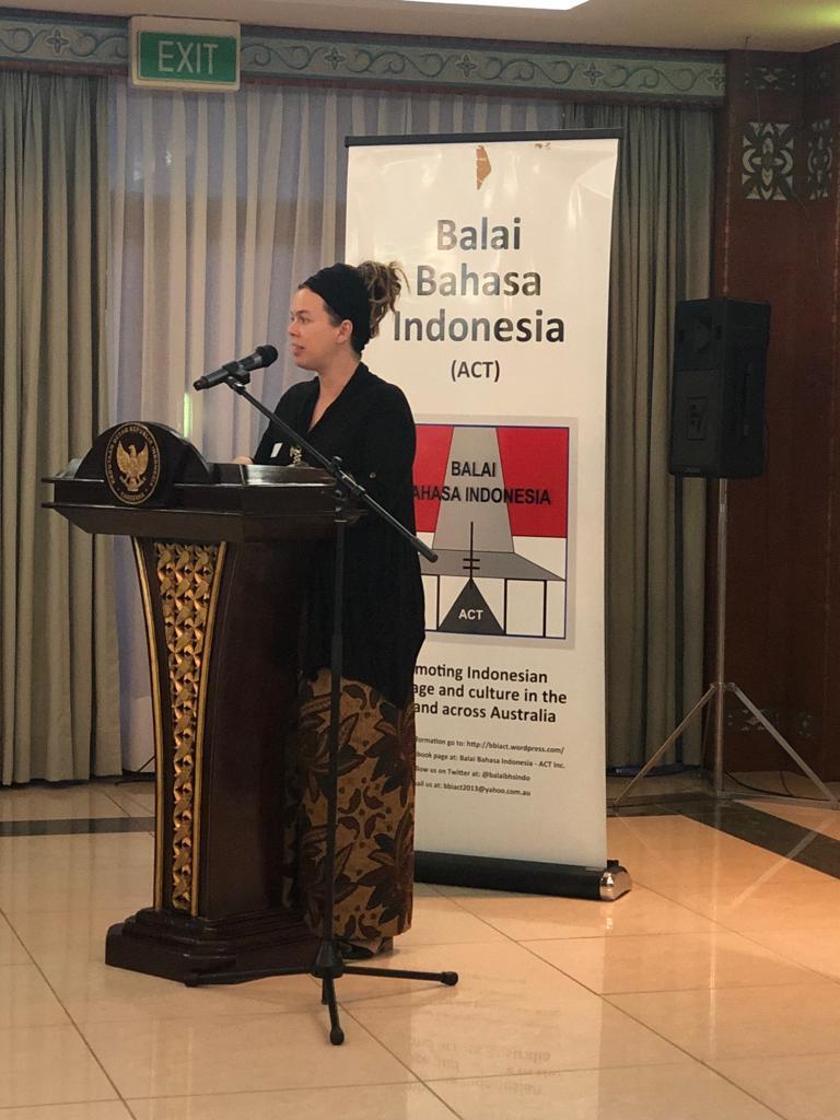 Indonesian   Balai Bahasa Indonesia (ACT)